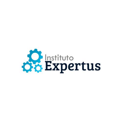 Logomarca Instituto Expertus por Clicsites