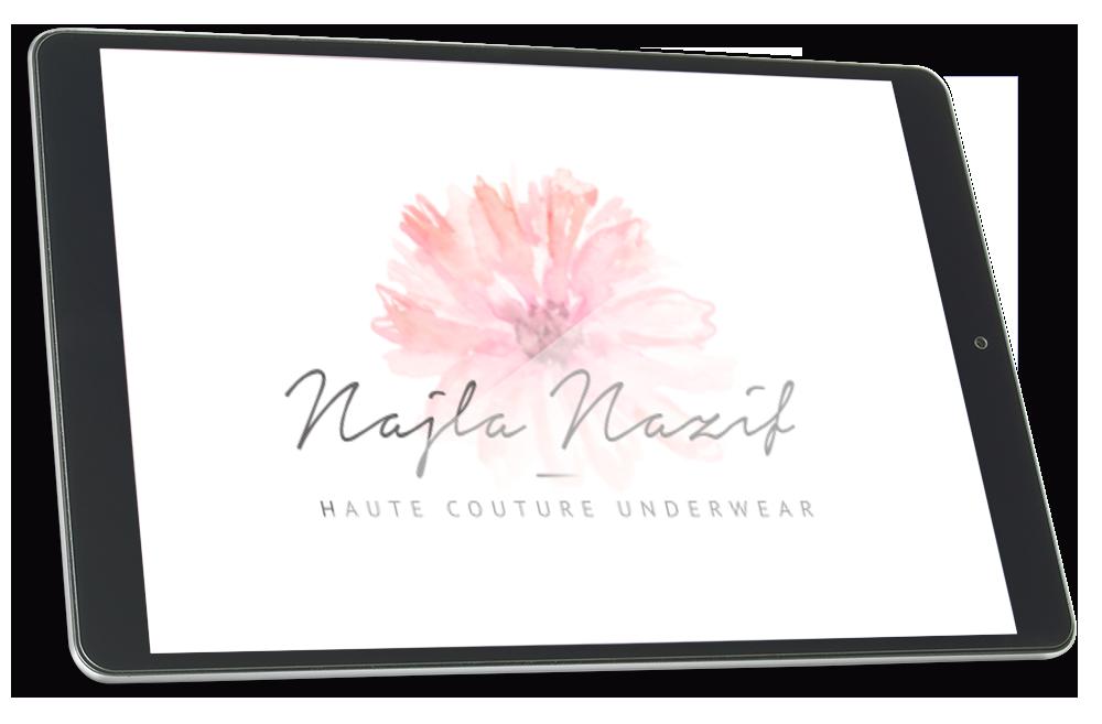 Logomarca Najla Nazif por Clicsites